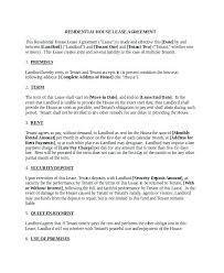 California Residential Lease Agreement Template Free – Poquet