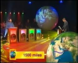 dominic fontana s broadcast interviews  directed by stuart mcdonald made by granada media for the national geographic channel i was involved in the creation of this geographical quiz show