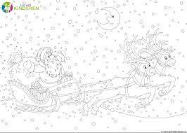25 Het Beste Kerstman Met Rendieren Kleurplaat Mandala Kleurplaat