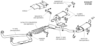 Car updates ford exhaust system diagram 2008 ford escape exhaust diagram