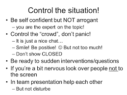 how to deliver a presentation in minutes some practical tips 4 control