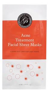 <b>Тканевая маска для проблемной</b> кожи лица Acne Treatment Facial ...