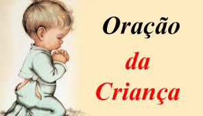 Resultado de imagem para imagem oração de uma criança