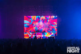 Lights All Night Dallas 2018 Synth Fire