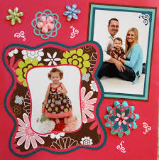 layout with flowers and fancy als frame from everyday life al memories materials ring binder sbooks large recollections holiday personalized
