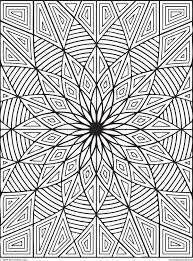 Small Picture Difficult Geometric Design Coloring Pages With Designs itgodme