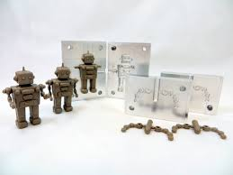 plastic injection toy robots