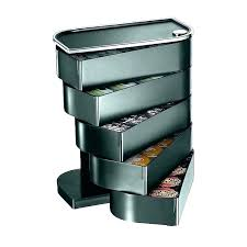 keurig drawer insert k cup drawer insert holder enchanting bed bath and beyond storage mind reader eclipse single k cup storage drawer