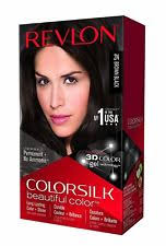 revlon colorsilk hair permanent color shade brown black 2n hair color
