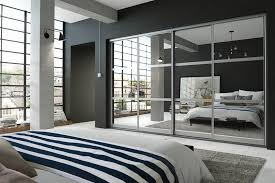 modern fitted bedroom furniture. set 5 aluminium mirror modern fitted bedroom furniture