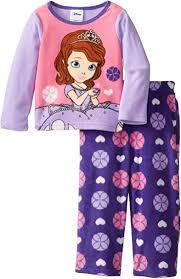 Disney Little Girls' Princess Sofia Pajama Set: Clothing - Amazon.com