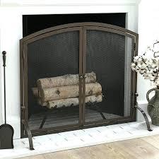 flat fireplace screen single panel fireplace screen chambers single panel fireplace screen woodeze single panel flat