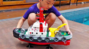 Boat <b>Toys for Kids</b> Unboxing Water Play - YouTube