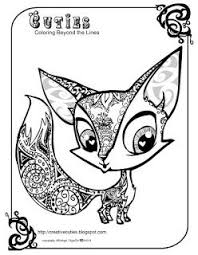 Cuties Free Animal Coloring Pages Mommys Coloring Pages Fox