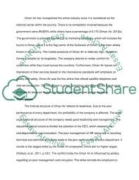 Standard Corporate Organizational Chart Analysis On The Organizational Structure Of Oman Air Essay