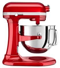 kitchenaid artisan stand mixer proline ksm7581 red