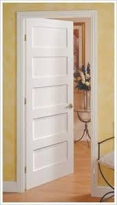 5 panel wood interior doors. 5 Panel Shaker Interior Door Put On My Doors Wood I