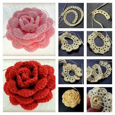 Free Crochet Flower Patterns Fascinating 48 Amazing Free Crochet 48D Flower Patterns To Love And Make