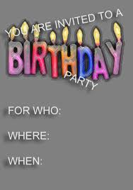 Birthday Party Invitation Template Word Free Invitation Template Free Birthday Party Invitation Templates