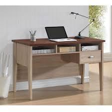 baxton studio tyler sonoma oak finishing modern writing desk free today com 16789989