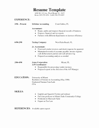 Free Simple Resume Templates Best Of Formal Resume Format Samples