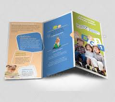 free microsoft word brochure templates tri fold 21 kindergarten brochure templates free psd eps ai indesign