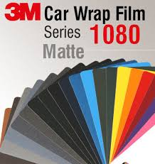 3m Car Wrap Film 1080 Matte Colors
