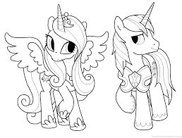 Small Picture My Little Pony Shining Armor Coloring Pages GetColoringPagescom