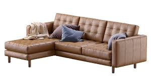 landskrona leather ikea sofa 134364