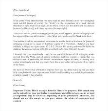 Legal Cease And Desist Letter Template Trademark Infringement Uk For