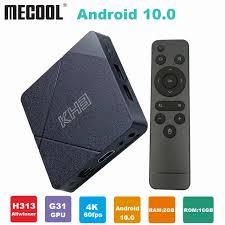 <b>Mecool</b> New <b>KH3 Android</b> 10 Tv Box Allwinner H313 Quad core ...