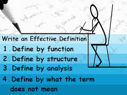 Definition Essay Pattern Steps Choosing Topics Dos Donts