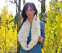 Knitted Infinity Scarf Pattern Custom Inspiration Ideas