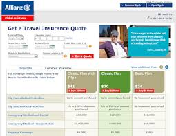 Travel Insurance Quote 34 Awesome Review Of Allianz Travel Insurance Travel Insurance Review