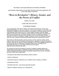 """th grade honors chapter the american revolution essay """"born in revolution"""" history gender and the power of conflict """""""