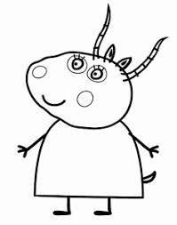 Cartoni Animati Da Colorare 21 Fantastiche Immagini In Peppa Pig