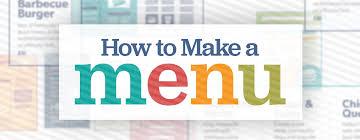 Togo Menu Templates Restaurant Menu Design How To Create A Menu