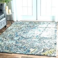abstract area rugs 8x10 area rugs area rug 8 x modern abstract vintage multi turquoise