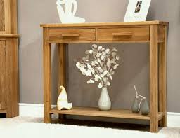 furniture for entrance hall. Inspiration Ideas Hall Table Height With Eton Solid Oak Modern Furniture Hallway Console Ebay For Entrance