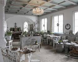 Shabby Living Room Shabby Chic Living Rooms Hardwood Frames Covered In White Leather