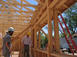 Double stud wall construction: This house ...