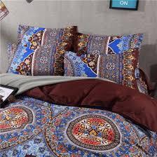 china indian bedsheet mandala colorful