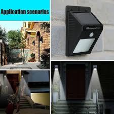 3 Pack Upgrade Version 6 Led Wireless Solar Motion Sensor Lights WaSolar Garage Lighting