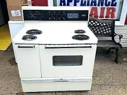 40 oven inch range full image for electric used freestanding stainless i7