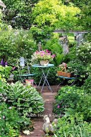Make Your Garden Lush! Great Tips and Ideas! Including, from aiken house  and gardens, this beautiful lush garden space.