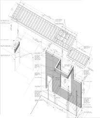 Canopy framing diagram michael grogan architect