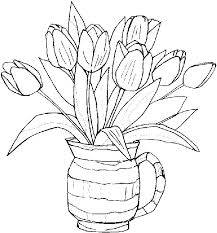 Spring Coloring Pages To Print Springtime Coloring Pictures Free