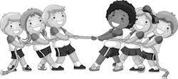 Креминская Татьяна Подвижные игры на уроках физкультуры Журнал  Проведение по сигналу первые номера устремляются вперед пробегают по скамейке перепрыгивая через лежащие на ней мячи затем добегают до стойки