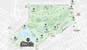 prospect park map  my blog