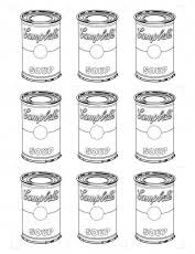 Small Picture Andy Warhol Coloring Sheets High Quality Coloring Pages